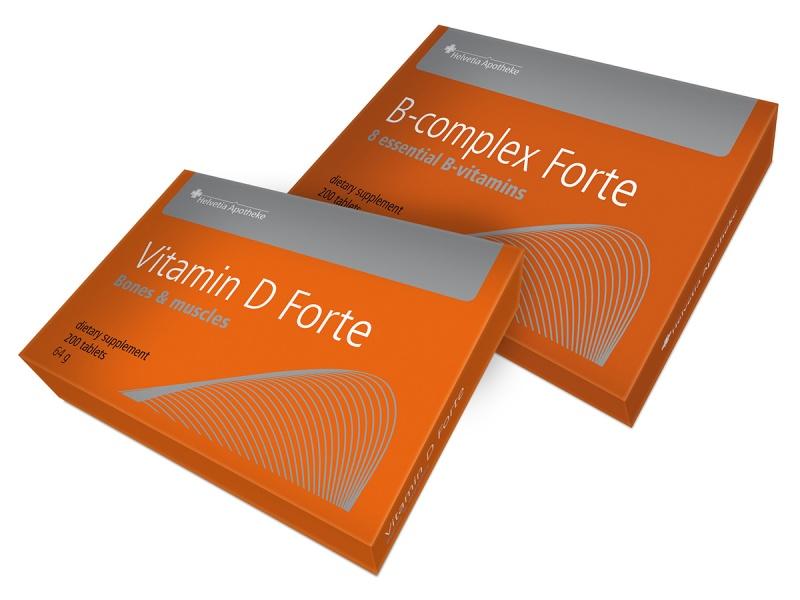 vitamine b forte